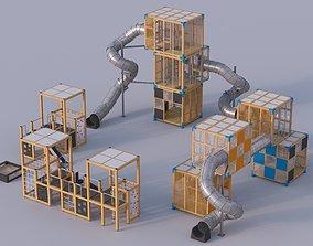 Modern playground 4 3D child