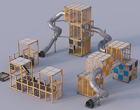 Modern playground 4 3D