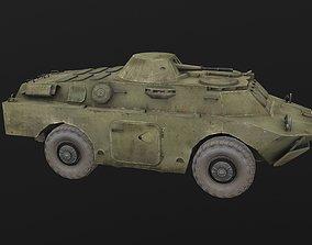 BRDM Armored carrier 3D asset