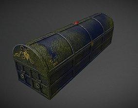 3D asset PBR Coffin of DIO