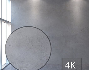 Concrete wall 350 3D model