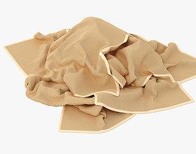Towels 001 3D model