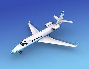 3D model IAI Astra Jet V08