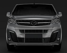 3D Opel Zafira Life L3 2020
