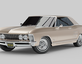 3D rigged Buick Riviera 1963