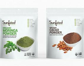 3D Sunfood Organic Moringa Powder
