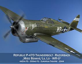 Republic P-47D Thunderbolt - WR-U 3D