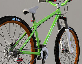 3D model Ns core bicycle