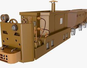 Trolley 3D printable model