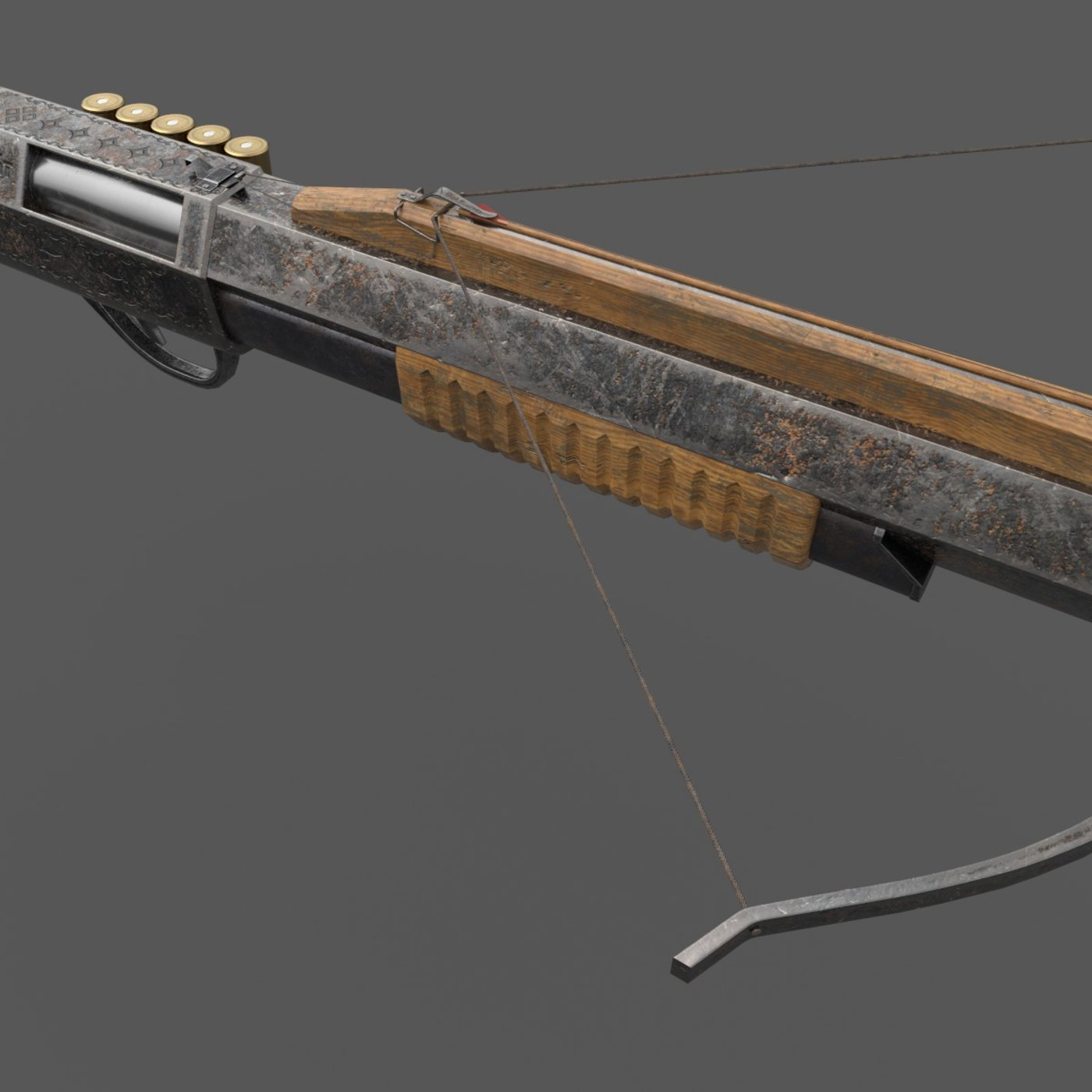 Rifle and Crossbow