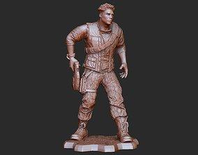 Del Walker Outsider Gears of War 3D Model STL File 3D
