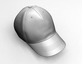 Qualitative Zbrush 3d model of Baseball Cap fashion