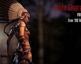 Linhi Character 3D asset
