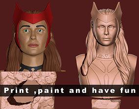 Scarlet witch 3D print model