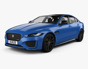 Jaguar XE Reims Edition 2020 3D model