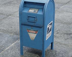 Mailbox - UDIM - 2K Textures 3D