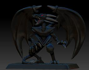 YU GI OH Red Eyes Black Dragon 3D Print Miniature Figure