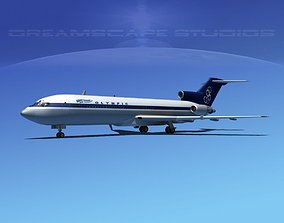 Boeing 727-200 Olympic Airlines 3D
