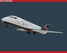 3D model CRJ200 Air Canada