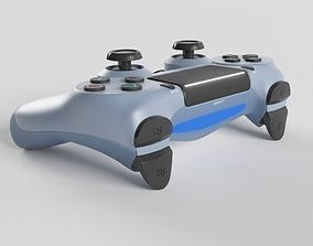 3D Sony PlayStation 4 DualShock Controller Titanium Blue