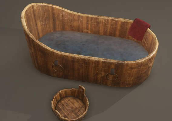 Medieval WashTubs Set