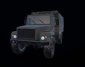 Gaz 3308 truck 3D model