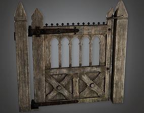 3D model Outdoor Gate 04 GFS - PBR Game Ready