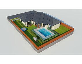 Australian House 4 3D model