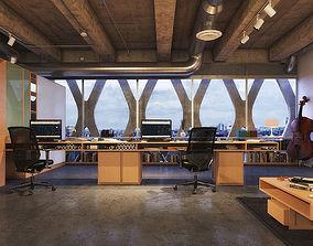 decoration 3D Interior Office