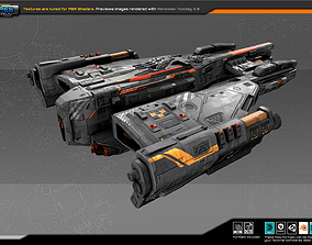 Federation Destroyer GK4 3D asset