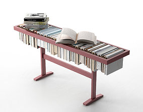 3D Booken - Bookcase Coffee Table