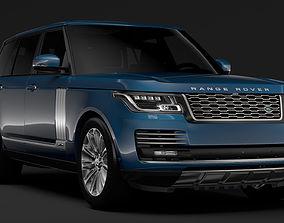 3D model Range Rover Autobiography LWB L405 2018