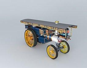 Burrell Showmans 4000 Ex Mayor 1925 3D model