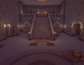 Low Poly Dungeons 3D model