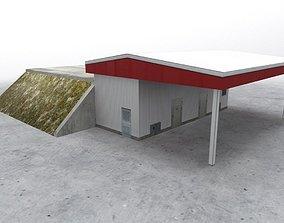 3D model LKKV Fuel Station