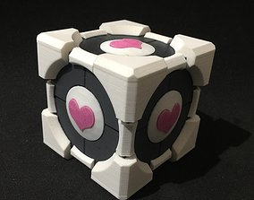 Portal Companion Cube Gift and Ring Box 3D print model