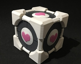 Portal Companion Cube Gift and Ring Box 3D print model