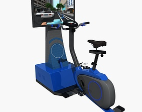 Riding Cycle VR Simulator 3D model