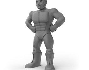 Mexican Wrestler Hurricane Ramirez 3D print model