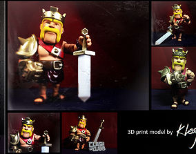 Barbarian King Ver Ball jointed doll 3D print model