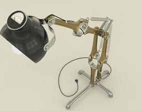 3D model Industrial adjustable lamp