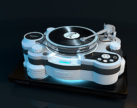 3D Vinyl player TechDAS Air Force One