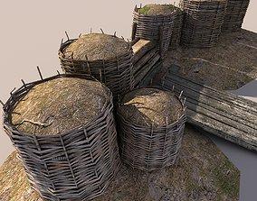 Wicker Barrier 3D