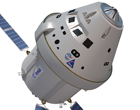 3D space Nasa Orion Space Craft