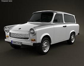 Trabant 601 Kombi 1965 3D