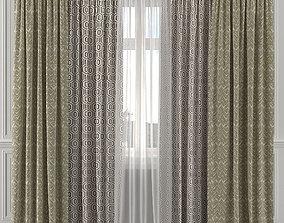 Curtain Set 167C 3D model