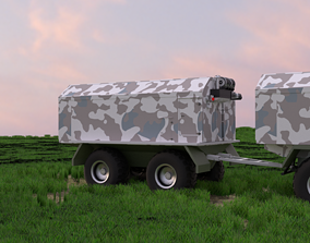 3D Swamp rover Petrovich