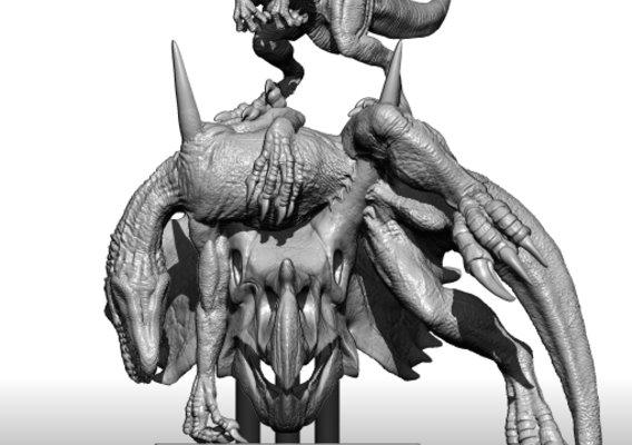 Raptor VS Indoraptor of Jurassic world