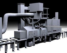 3D model Shotblastingmachine