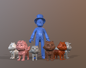 Paw Patrol Catastrophe Crew 3D printable model